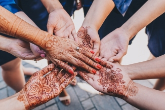 Henna tattoos for wedding