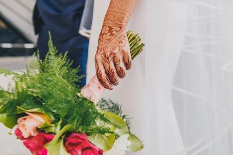 Henna Tattoo on Bride