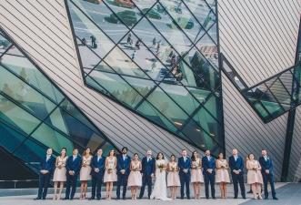 Toronto Wedding at the ROM