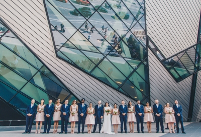 Toronto Wedding at the ROM