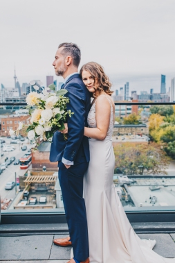 Wedding Photos at Broadview Hotel, Toronto