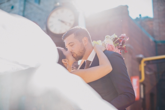 Toronto Wedding at Distillery District, Summer 2018