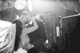 Toronto Wedding at Distillery District, Summer 2018