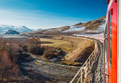 The Dogu Express View in Turkey