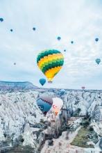 The Balloons of Cappadocia, Turkey