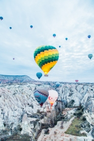The Balloons of Cappadocia, Turkey