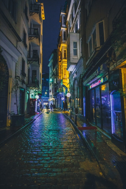 Late nights in Istanbul.