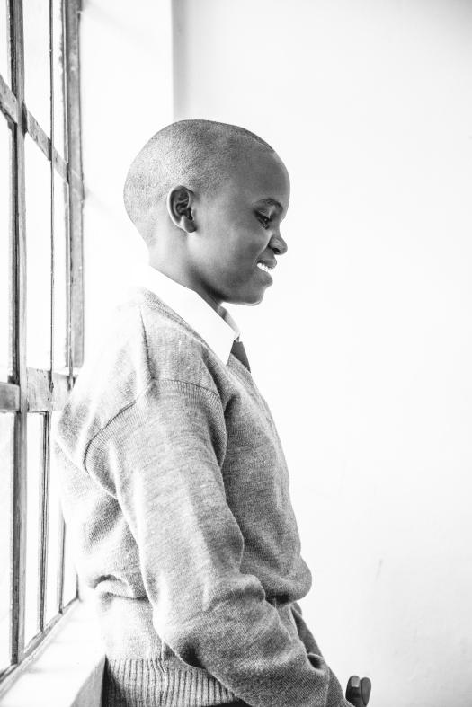 School student in Maasai Mara.