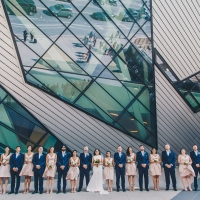 Greg + Kiran's Big Indian + Catholic Downtown Toronto Wedding