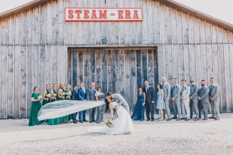 Spring Wedding at Country Heritage Park