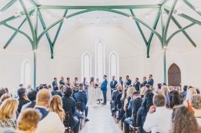 Wedding at Enoch Turner School House, 2019