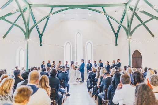 Wedding at Enoch Turner School House, 2019