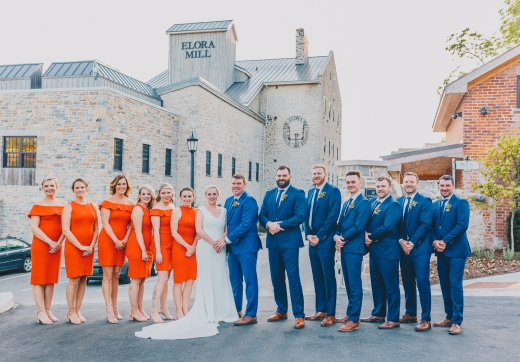 Wedding at Elora Mill Hotel and Spa, Elora