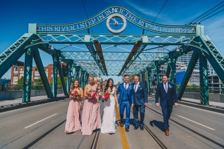 Wedding Vibes Queen Viaduct Bridge Toronto