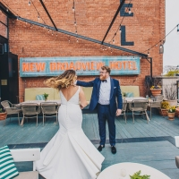 Wedding Bliss at Broadview Hotel with Upscale Touches