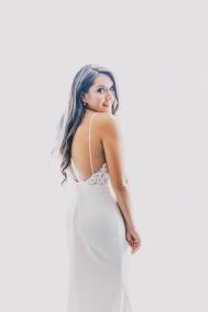 Bride portrait. Shot at Thompson Hotel, Toronto.