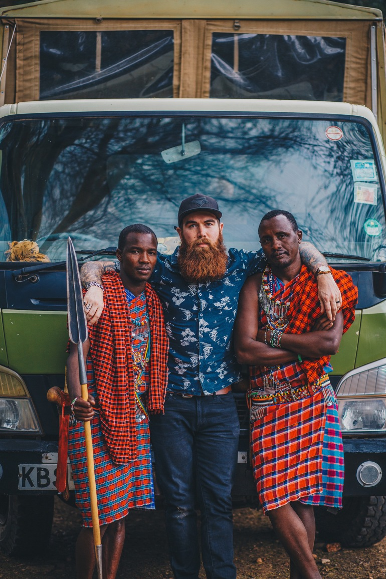 Ryan Bolton in Kenya