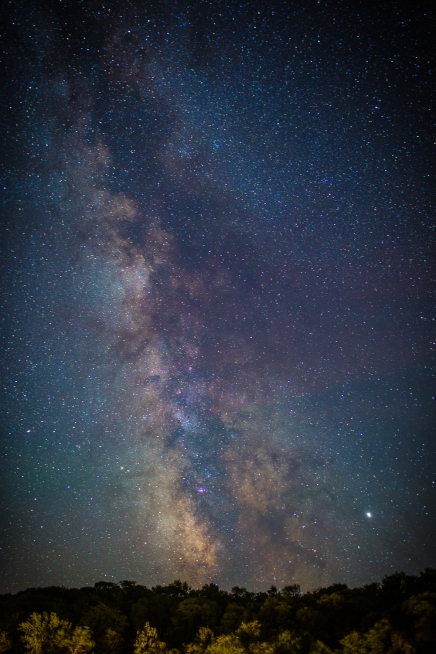Milky Way over Lake Muskoka, Ontario