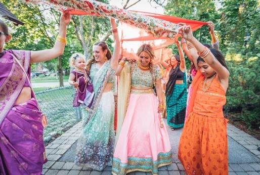 Indian Mhendi Party Celebrations