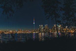Toronto, Photograph from the Island.
