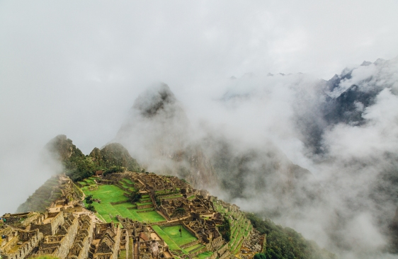Reaching Machu Picchu Through the Clouds