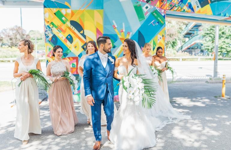 Wedding Day Photography at Palais Royale, Toronto (Ryan Bolton)