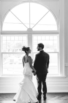 Emily + Derek Wedding Day at The Great Hall, Toronto
