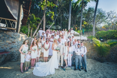 Wedding Celebrations at Mexico Destination Wedding, Kevin + Sandra