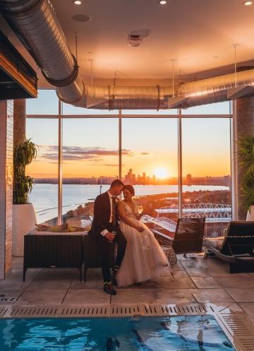 Wedding Day at Hotel X Toronto