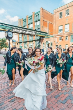 Wedding Party at Distillery District