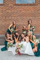 Toronto Wedding in Distillery District, Airship 37