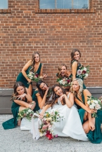 Toronto Wedding in Distillery District, Airship 37