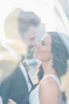 Wedding Day in Distillery District, Toronto