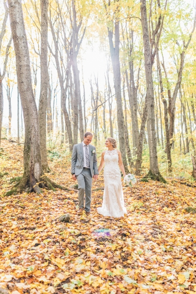 Scott and Melissa in Collingwood Wedding