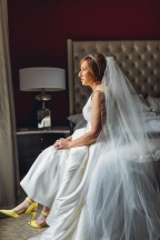 Bride Portrait at King Edward Hotel