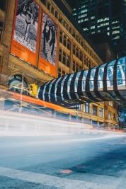 Toronto Streets Long Exposure